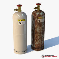 3ds max gas tank