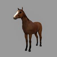 horse games 3d model