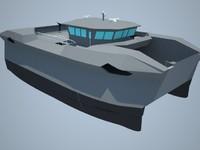 military ro-ro 3d model