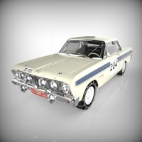 3d model rallying racing auto