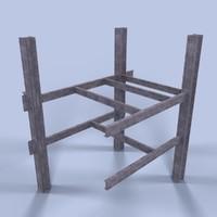 scaffold obj