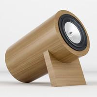 3ds max monoqi speaker