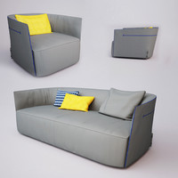 max sofa poliform santa monica