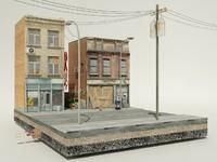 old street 3d model