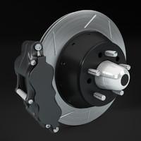 3d 3ds brake disc