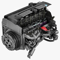 lightwave bmw car engine cut