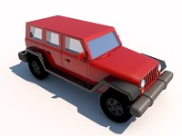 jeep wrangler 3d 3ds