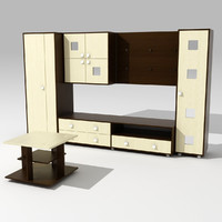 interior furniture 3d 3ds