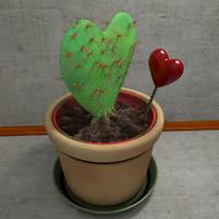 3d plant heart