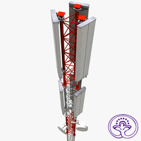 3ds max cell antenna tower