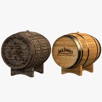 barrels old wine 3d x