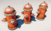 hydrant prop 3d max