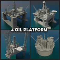 Oil platform Collection