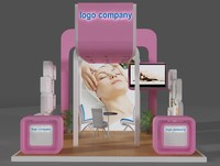 3d booth design model