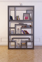 Bookshelf with books 6