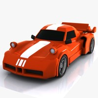 Cartoon Sports Car 1