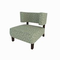 modern armchair 3d model