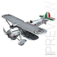Fiat CR.32 - Italy Airforce - 154 Squadriglia