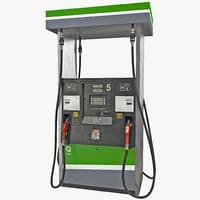 3d gas pump 7 model