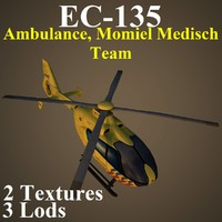 3d model eurocopter anw