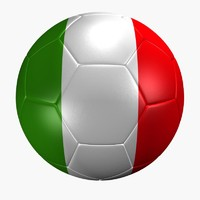 maya soccer ball italy flag