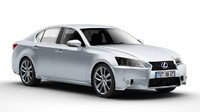 3d model of lexus gs 450h