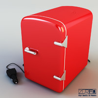 3d max mini fridge