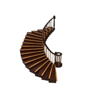3d staircase ready model