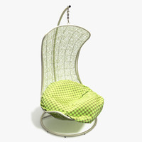 outdoor chair obj