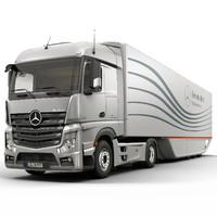 Mercedes Actros Aero Trailer 2012