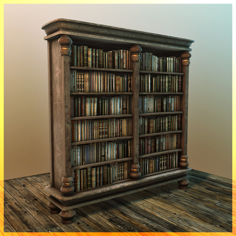 3d model book shelf bookshelf - House design new model shelves ...