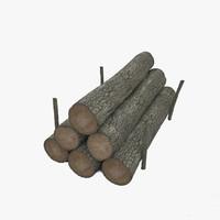 max wood log pile