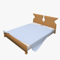 3dsmax bed