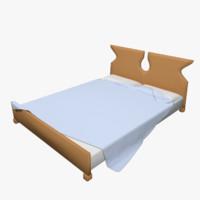 bed obj free