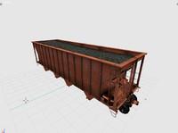 free 3ds model cargo vagon