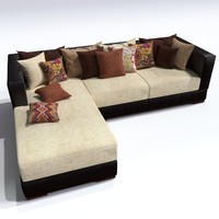 3d model sofa kingstone