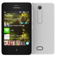 Nokia Asha 501 White