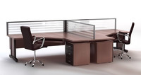 Office Desk & Chair 3