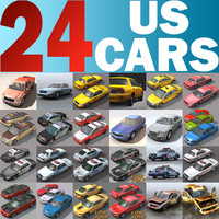 24 Real-time US Cars