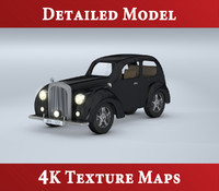3d classic bentley automobile