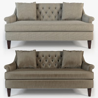 Hickory furniture - Marler tufted apartment sofa