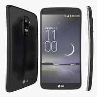 3ds max curved smartphone lg g