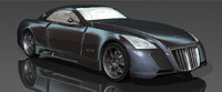 maybach exelero rigged 3d lwo
