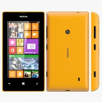 3d nokia lumia 525 orange