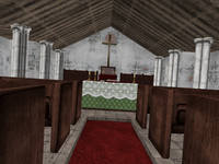 church pack 3d model