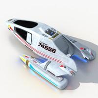 ncc shuttle 3d max