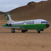 3d aircraft vickers vc-10 poser model