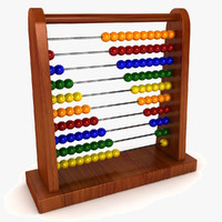 3d model abacus abac