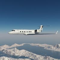 Gulfstream G550 Rigged Jet