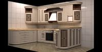3ds max kitchen classic